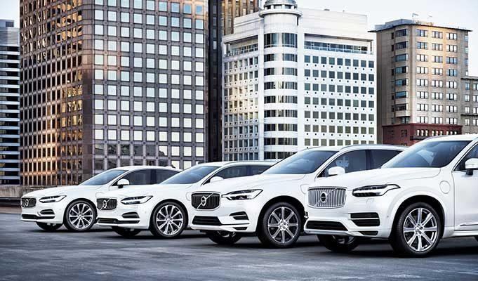 Volvo Elektrikli Araba Modelleri