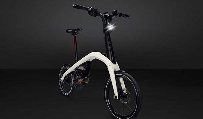 General Motors'dan Katlanabilir Elektrikli Bisiklet
