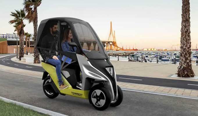 Harika Bir Scooter ve Araba Kombinasyonu: Torrot Velocipedo