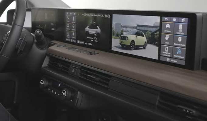 Honda Elektrikli Araç Dijital Konsolunda 5 Dokunmatik Ekrana Sahip Olacak!